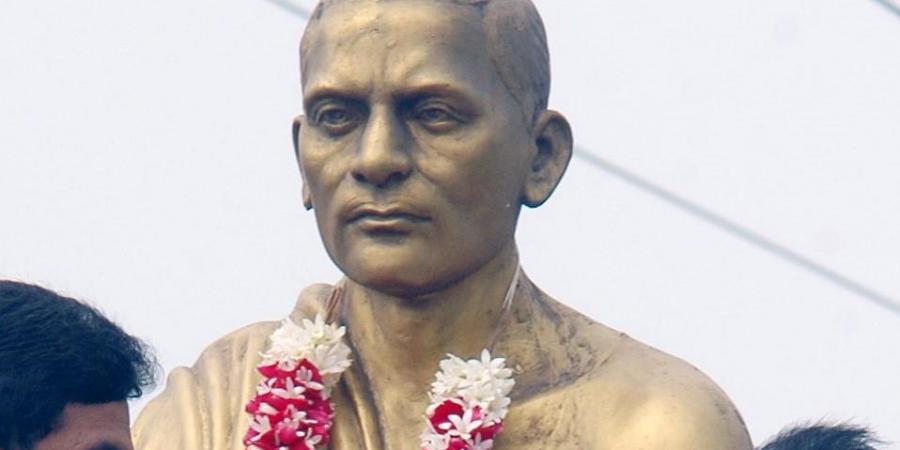 Sreeramulu statue