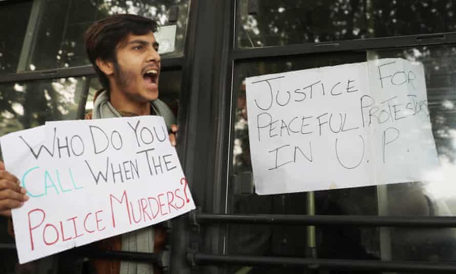 protest police brutality