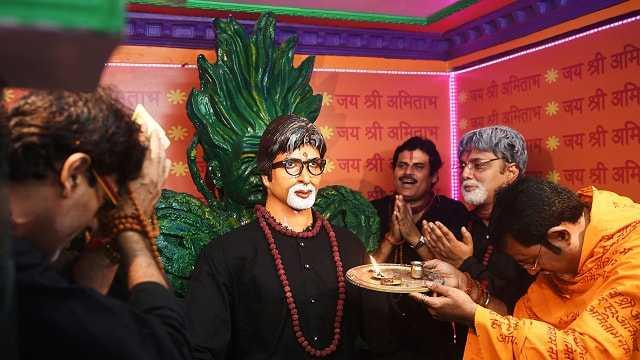 Temple built for Amitabh Bachchan