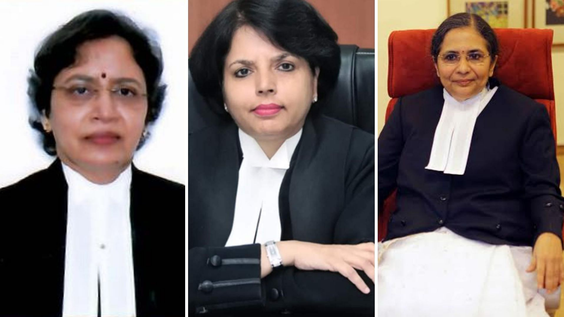 three women judges