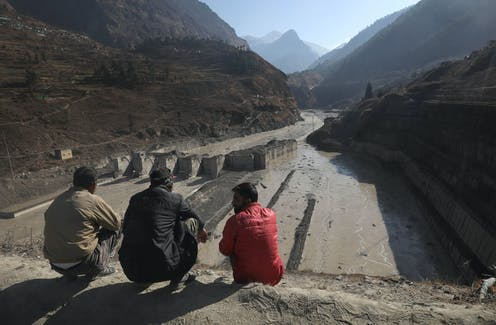 Climate change: as mountain regions warm, hydroelectric power plants may be vulnerable