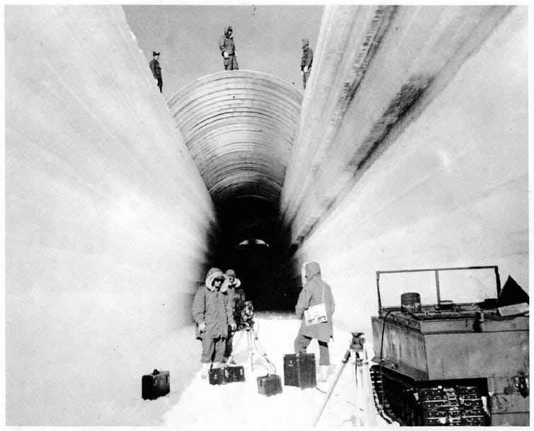 Secret military bases and Danish freezers