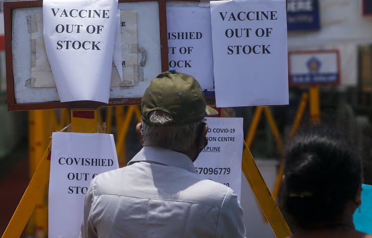 Conflicting messaging and a botched vaccine roll-out